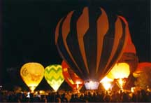The Adirondack Balloon Festival hits the Lake George Region every September!