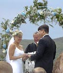 PHOTO OF AN OUTDOOR WEDDING IN LAKE GEORGE